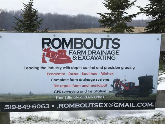 Rombouts Farm Drainage and Excavating